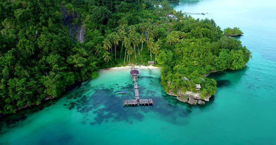Docking to Waigeo Papua