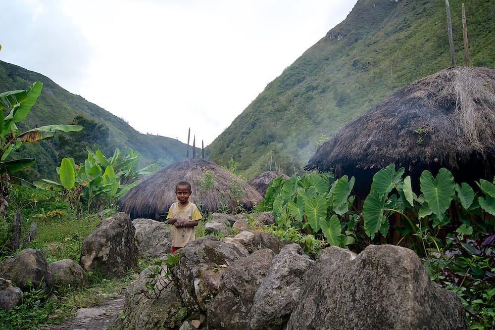 Dani Tribe's House   Baliem Valley   Hello Papua