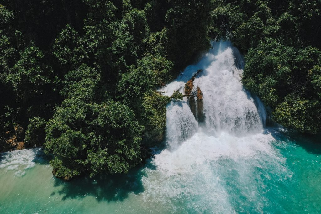 Waterfall Raja Ampat   Hello Papua