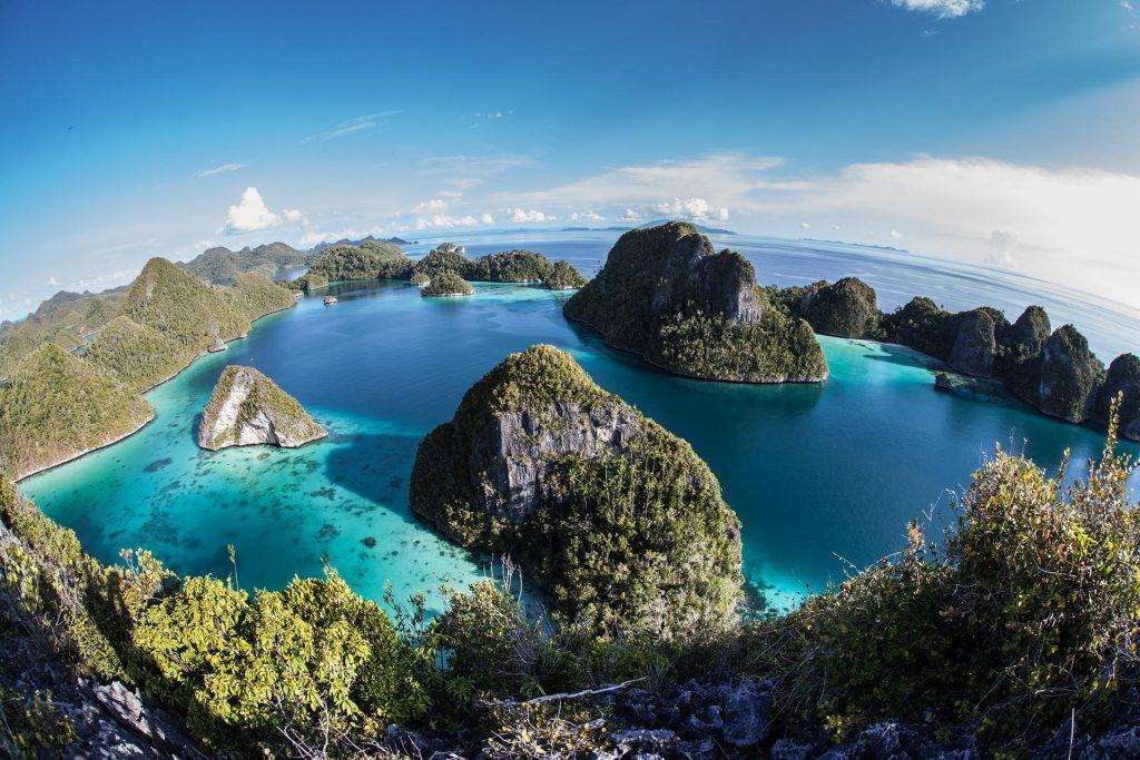 Limestone Islands and Tropical Lagoon | Raja Ampat | Hello Papua