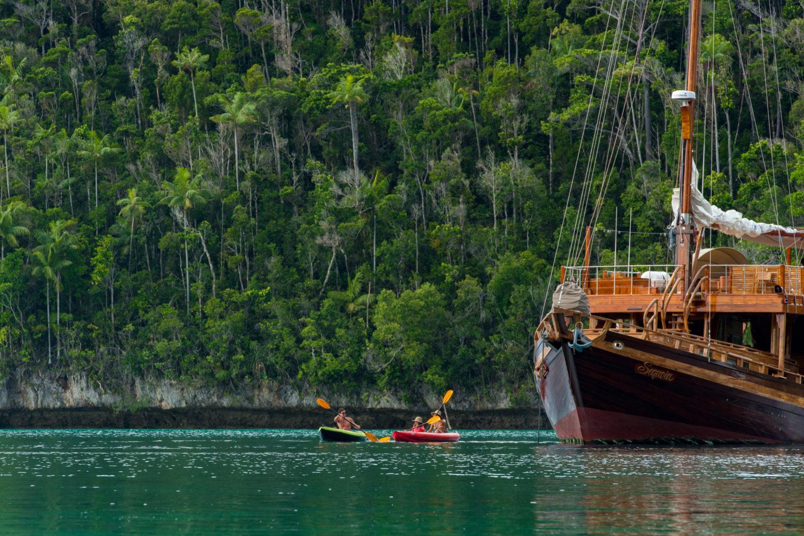 Canoeing in Raja Ampat | Hello Papua