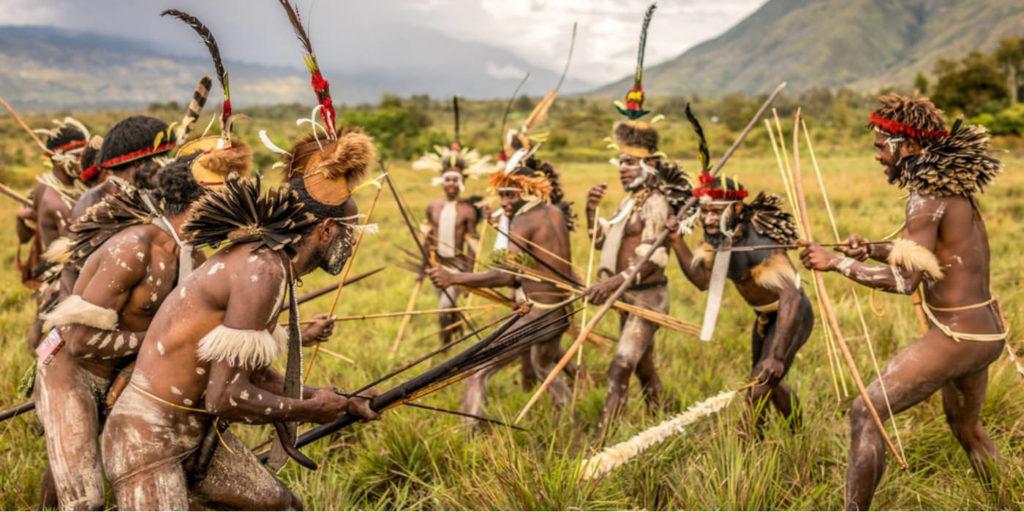 Dani Dance Baliem Valley   Hello Papua