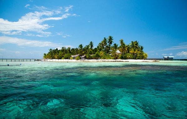 Overwater View Arborek Island | Hello Papua