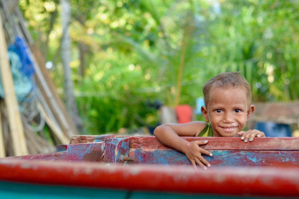 A curious child Papua