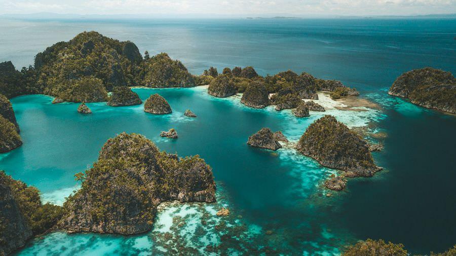 Magnificent Piaynemo Island Papua