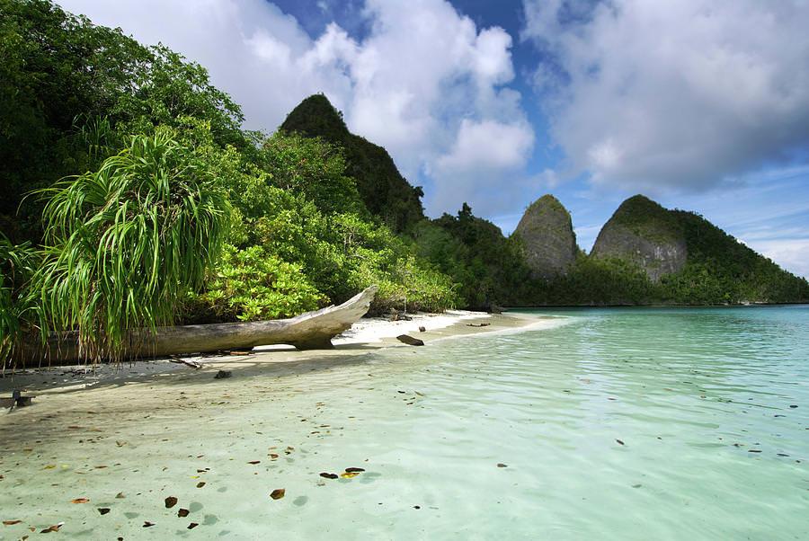 Wayag Island from Lagoon